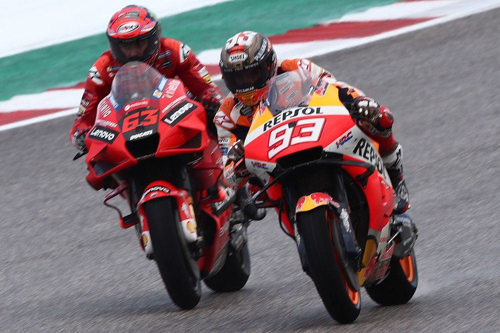 Hasil FP1 MotoGP Amerika: Awalan Bagus Marquez, Honda-Ducati Sangat Kuat