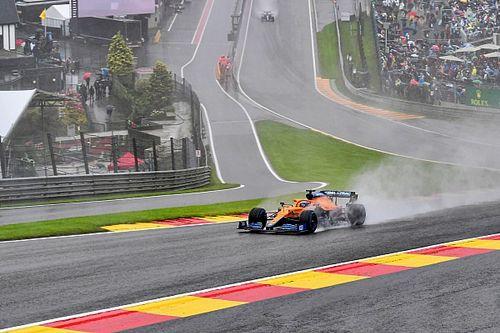 """McLaren: """"Solo se podía correr bajo techo en Spa"""""""