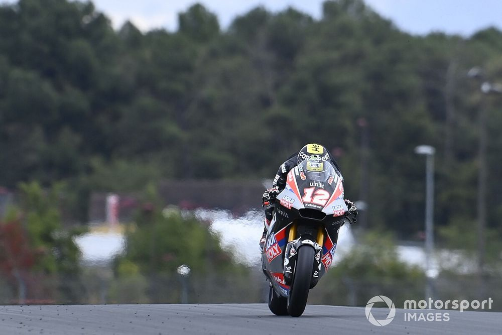Moto2, Europa, Libere 1: Luthi al top, Marini in crisi