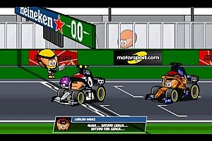 El vibrante GP de Italia F1, con la peculiar visión de los Minis