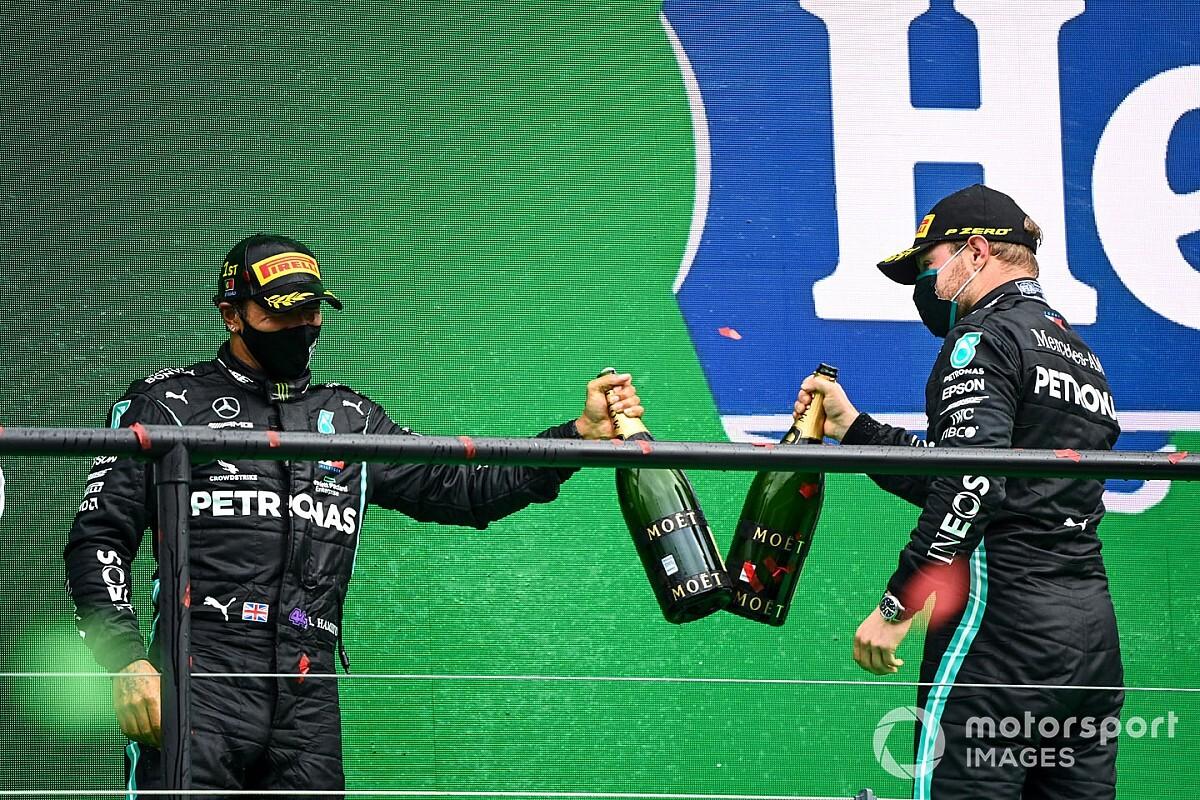 Mercedes, Imola'da nasıl şampiyon olur?