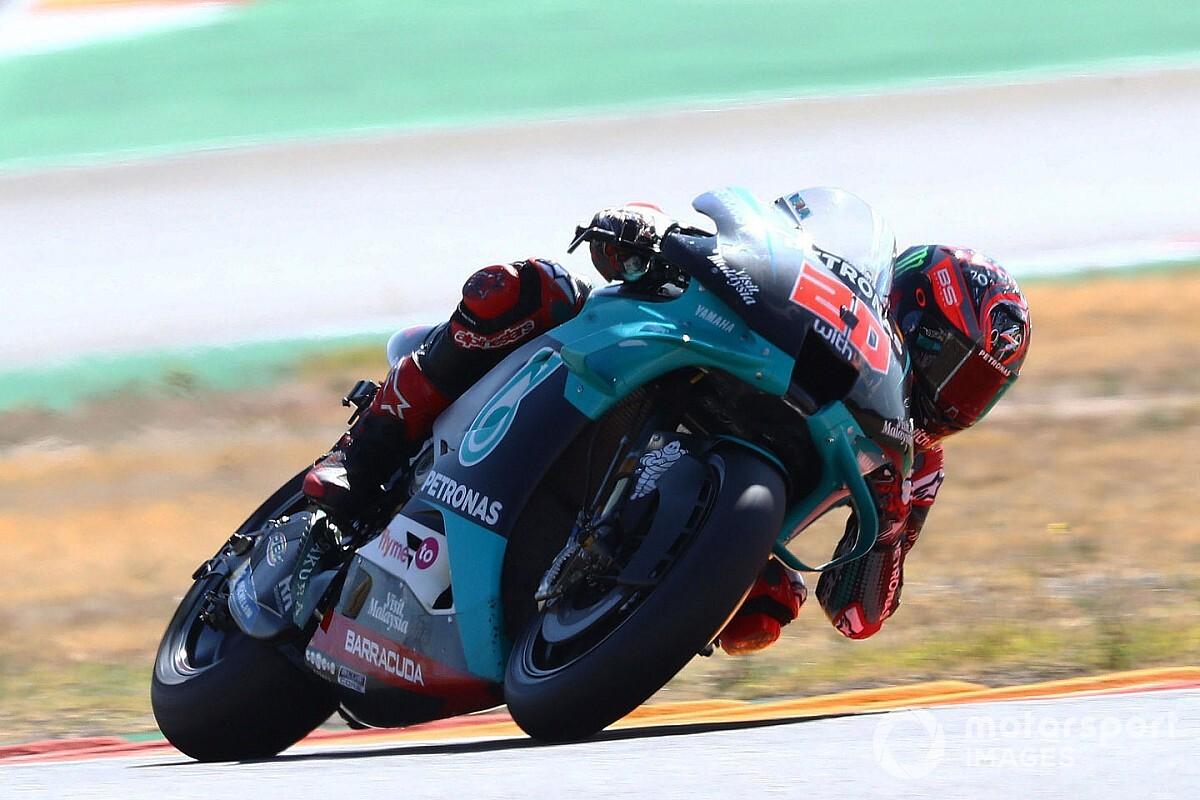 MotoGP, Aragon: Quartararo in pole, Dovizioso furioso