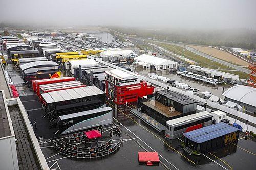El GP de Eifel, sin actividad el viernes por mal tiempo
