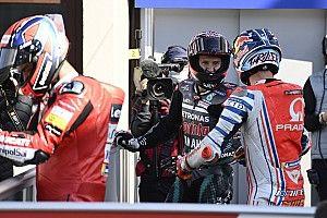 La parrilla de salida del GP de Francia de MotoGP 2020
