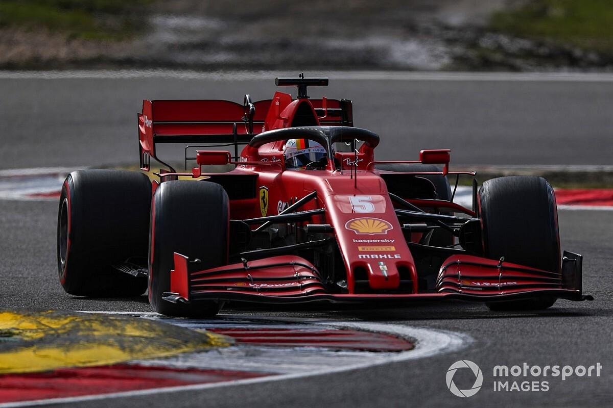 """Vettel: """"Con questa Ferrari non posso fare di più"""""""