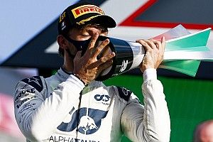 Hamilton: Zege van Gasly 'moet pijn doen' bij Red Bull