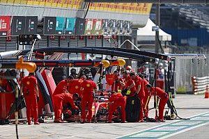 Vettel cuestiona la estrategia de Ferrari al quedar eliminado en Q1