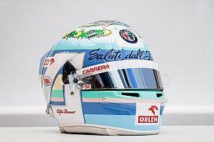 F1: ecco il casco di Giovinazzi per il GP d'Italia
