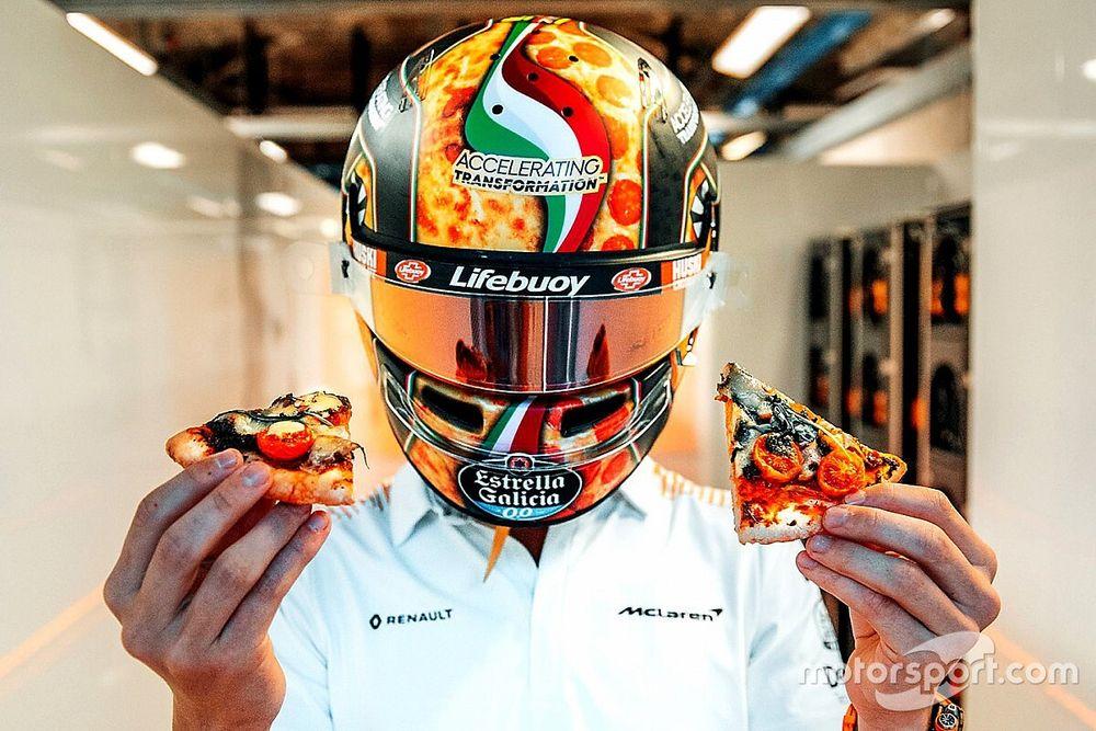 Fotos: los geniales cascos especiales para el GP de Italia