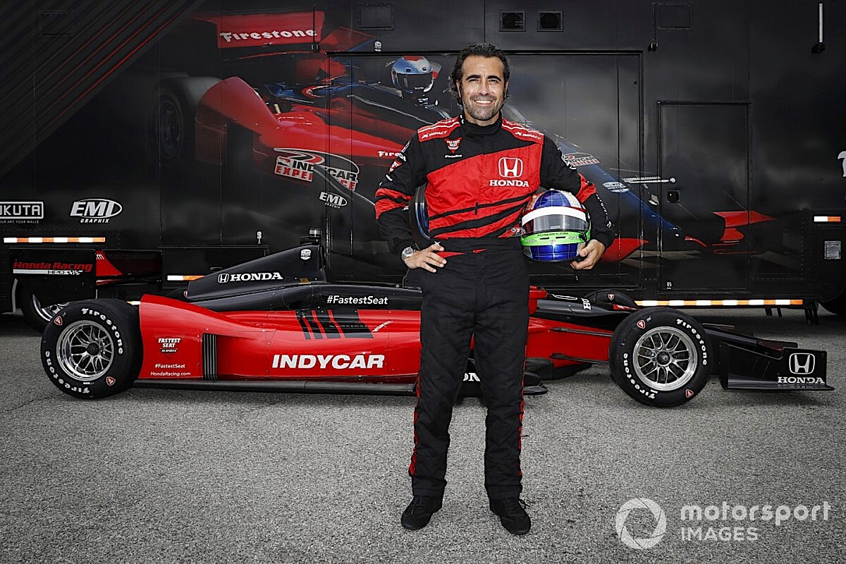 Franchitti to drive Honda two-seater IndyCar at Gateway