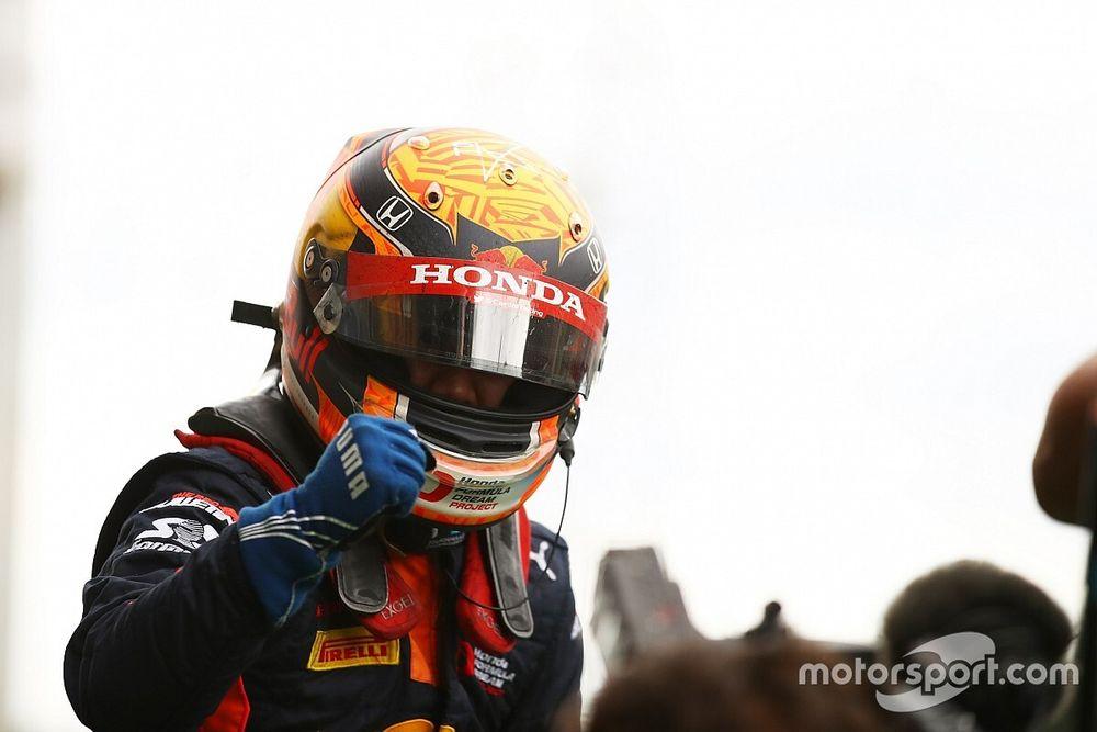 【動画】FIA F2に参戦中、角田裕毅から日本のファンにメッセージ