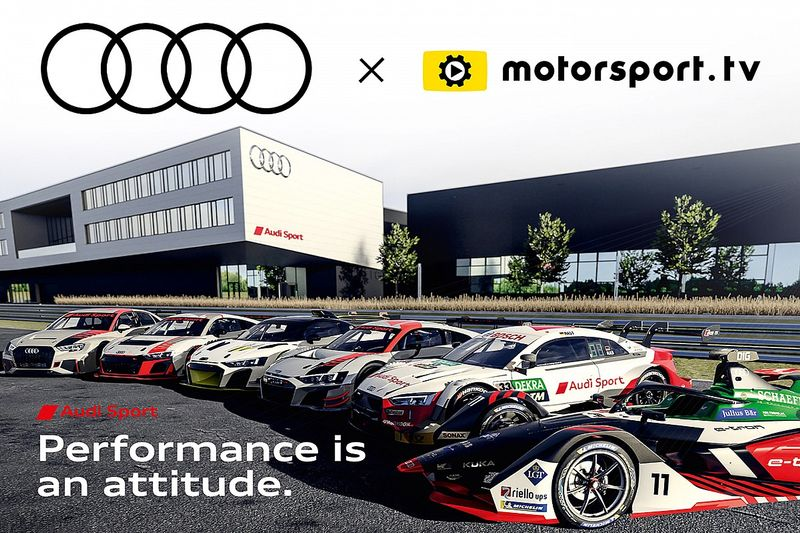 Audi Sport launches dedicated OTT channel with Motorsport.tv