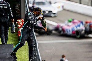 Belgian GP: Hamilton cruises to win ahead of Bottas