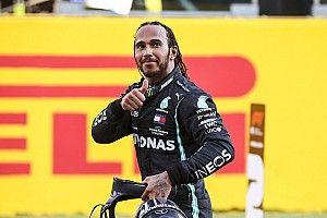 """Hamilton: """"90 vittorie? E' un qualcosa di pazzesco!"""""""