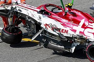 """Giovinazzi: """"Il crash? Pensavamo che davanti fossero partiti"""""""