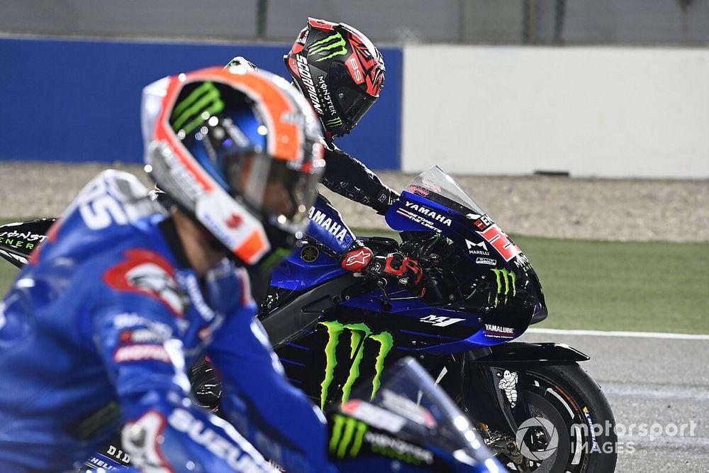 """MotoGP: Quartararo se diz """"assustado"""" com baixo potencial de ultrapassagem da Yamaha"""