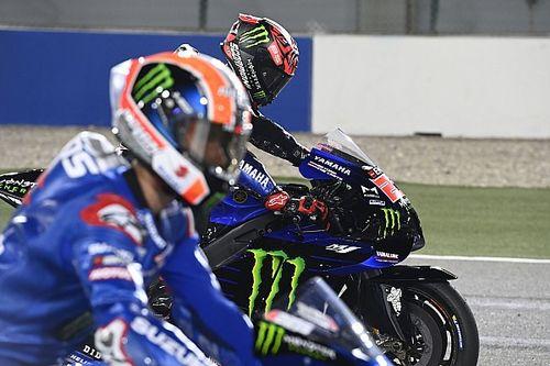 "Quartararo ""scared"" of Yamaha's overtaking potential in Qatar"