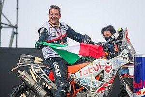 Dakar: Zacchetti miglior italiano al traguardo tra le moto