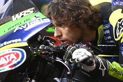 """バスティアニーニ、MotoGP2戦目は『""""髪""""一重の11位』視界不良でシングルフィニッシュのチャンス消える"""
