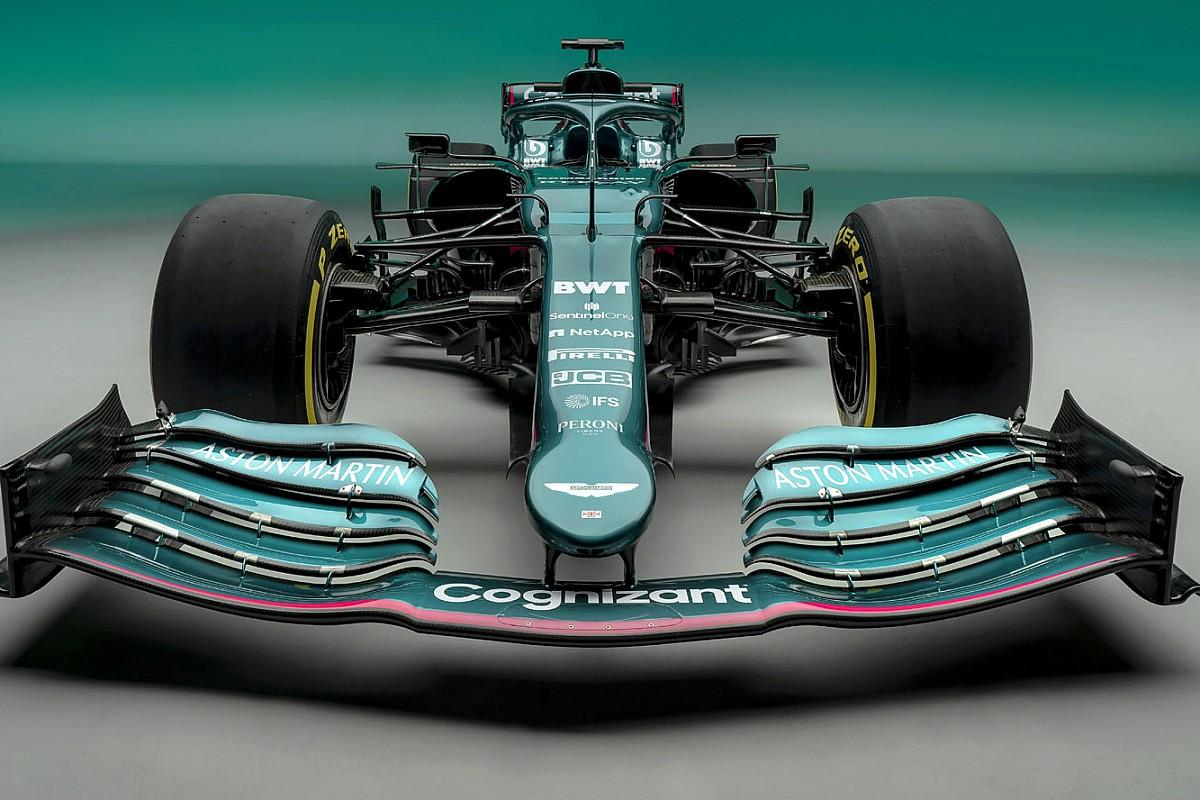 Formel 1 2021 Der Neue Aston Martin Amr21 Von Sebastian Vettel In Bildern
