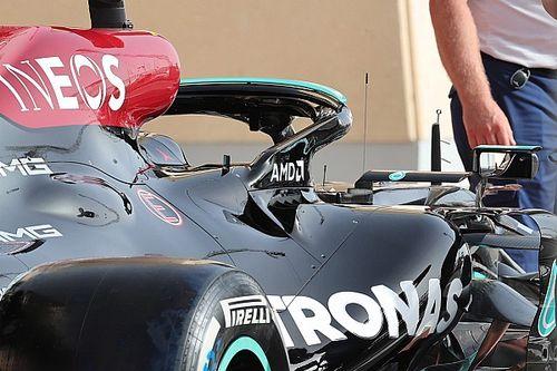 Mercedes: per respirare la W12 riutilizza le branchie