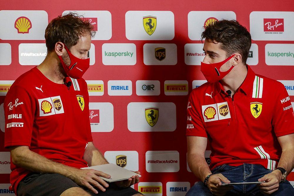 Leclerc: Vettel hagyott nyerni, Sainz mindig kiakad, ha megverem