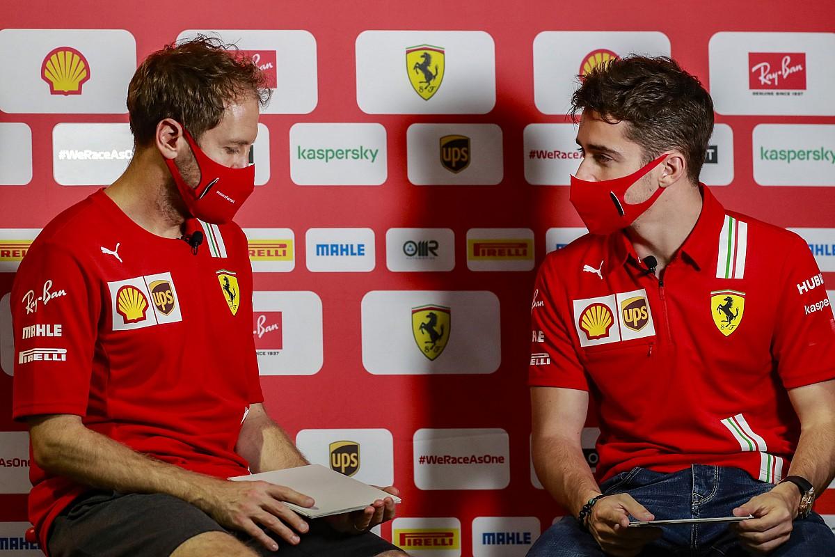 """فيتيل يعتبر لوكلير """"السائق الأكثر موهبة في الفورمولا واحد"""""""