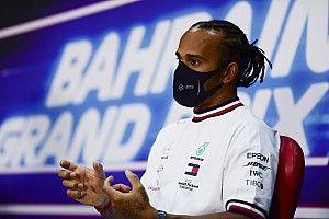 Hamilton critica duramente los neumáticos Pirelli de 2021