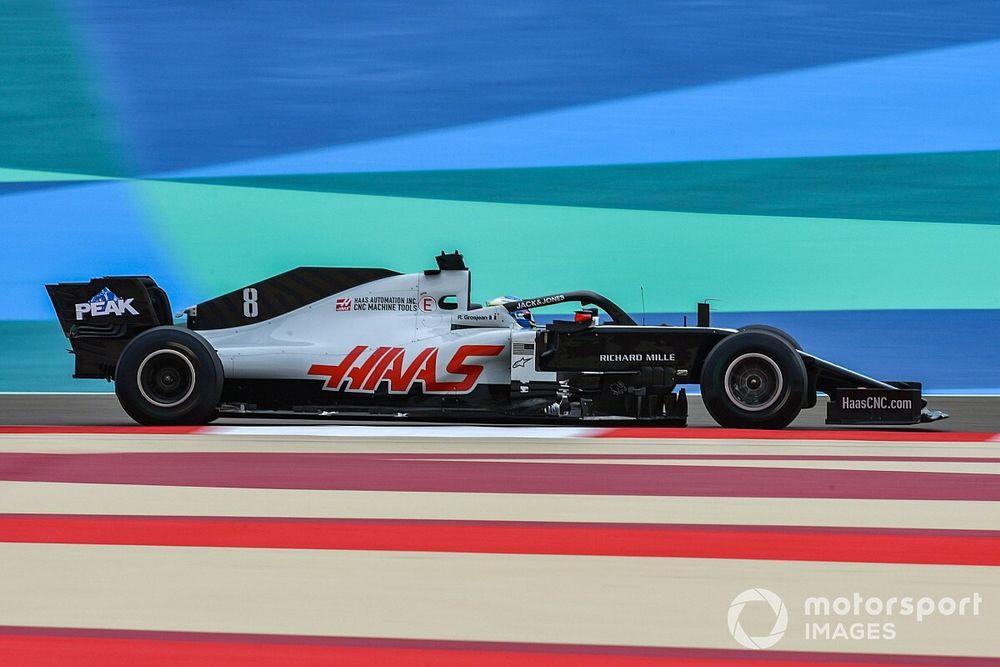 Haas nie zorganizuje testu dla Grosjeana