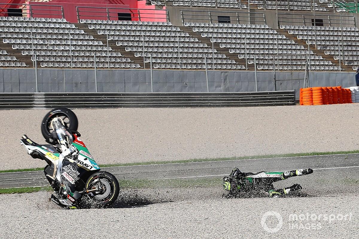 """Lorenzo: """"Crutchlow será un buen probador de la dureza de la moto"""""""