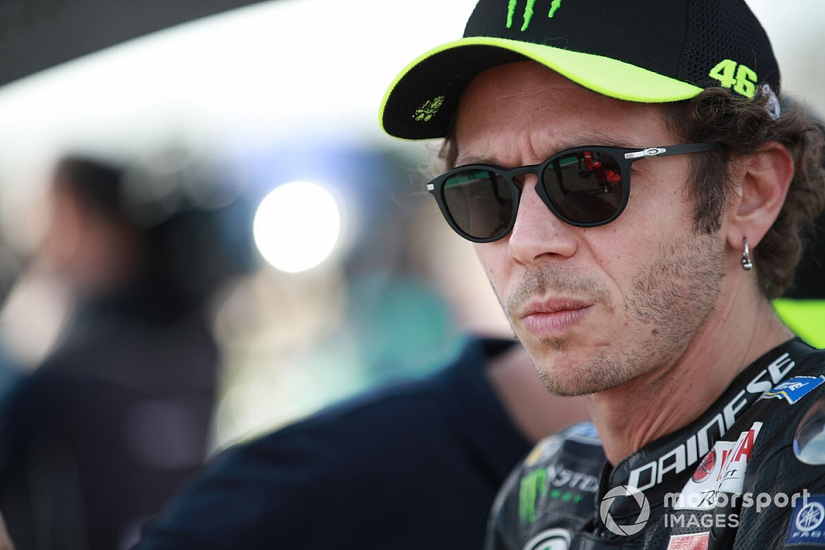 Valentino Rossi tests positive for COVID-19 again