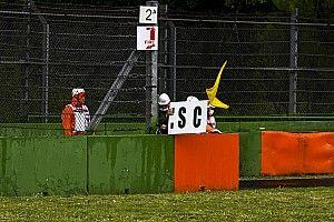 GP van Emilia-Romagna stilgelegd na megacrash Bottas en Russell