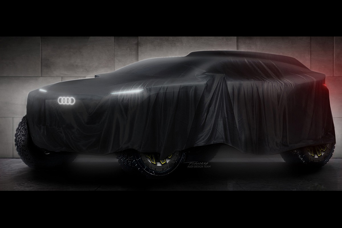 Audi reveals details of electric Dakar powertrain