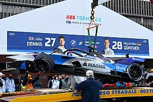 Dennis blames absence of yellow flags for Rome practice pileup