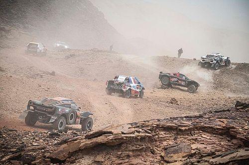Organisatie Dakar Rally kort zesde etappe naar Ha'il flink in