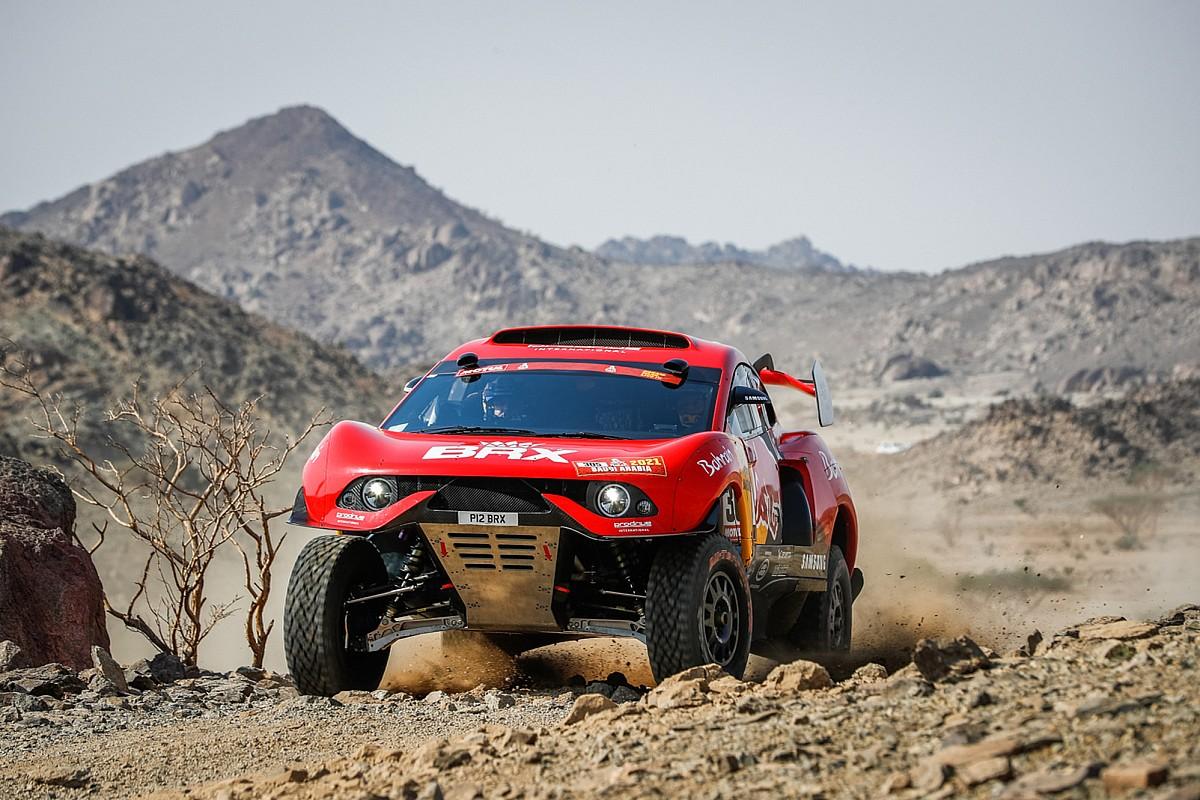 """Loeb: """"Una de las etapas más duras que he hecho en el Dakar"""""""