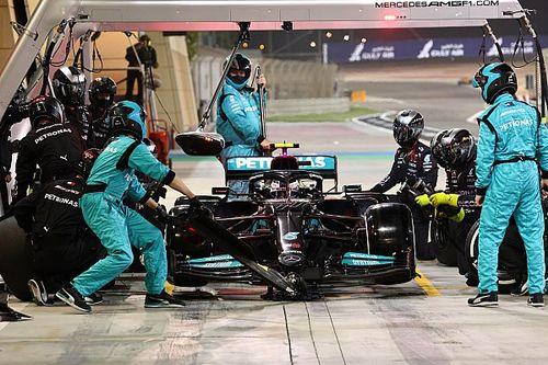 Análisis: el cambio de dos segundos que 'castiga' a Mercedes F1