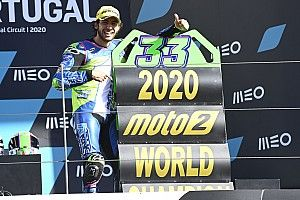 Moto2 2020 in Portimao: Erster Sieg für Gardner, Bastianini ist Weltmeister