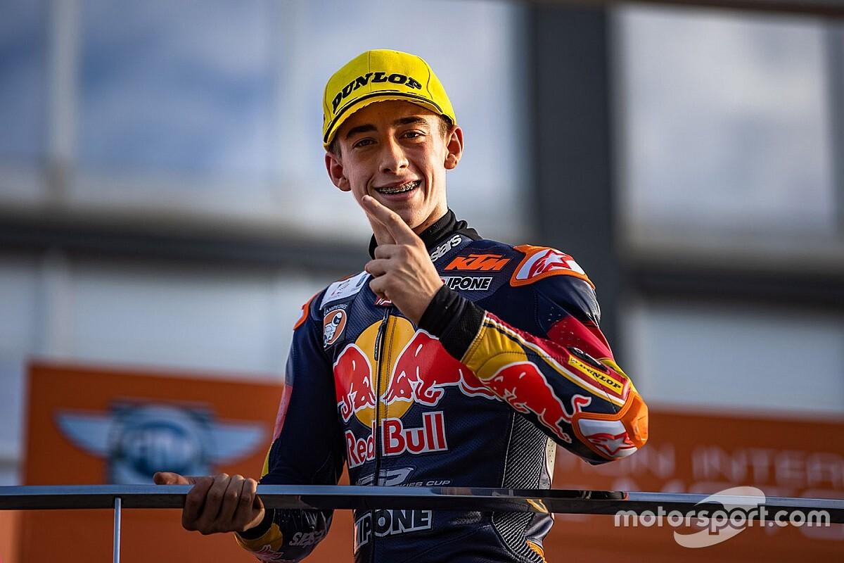 Pedro Acosta Resmi Dipinang KTM Ajo Moto3