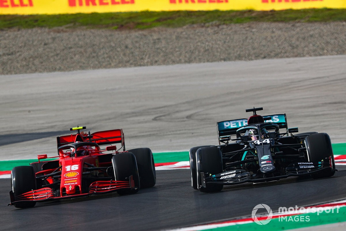 "Hamilton critical of ""terrifying"" Turkey F1 track surface"