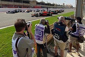 GALERÍA: el primer día del test de F1 en Bahrein