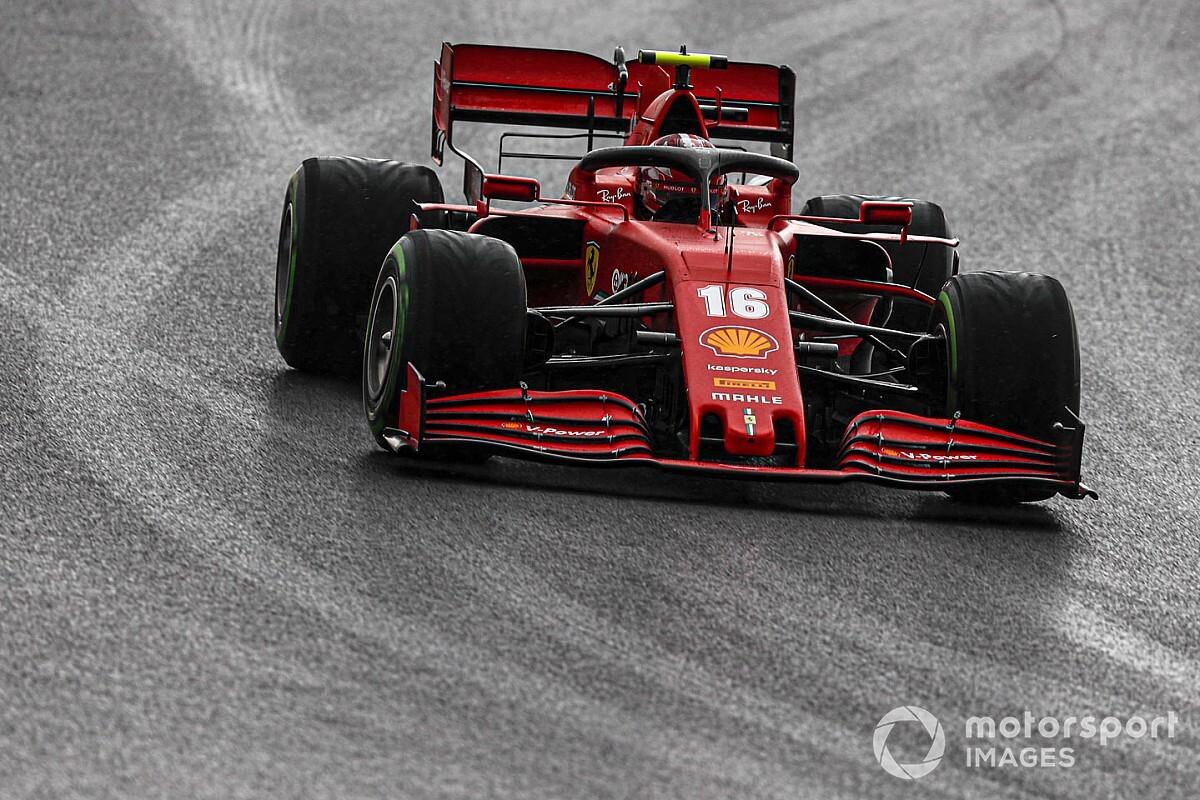 """Leclerc sbaglia e si sfoga via radio: """"Sono un co.....e!"""""""