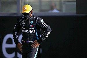 """Hamilton: """"Gara durissima per me e Red Bull fuori portata"""""""