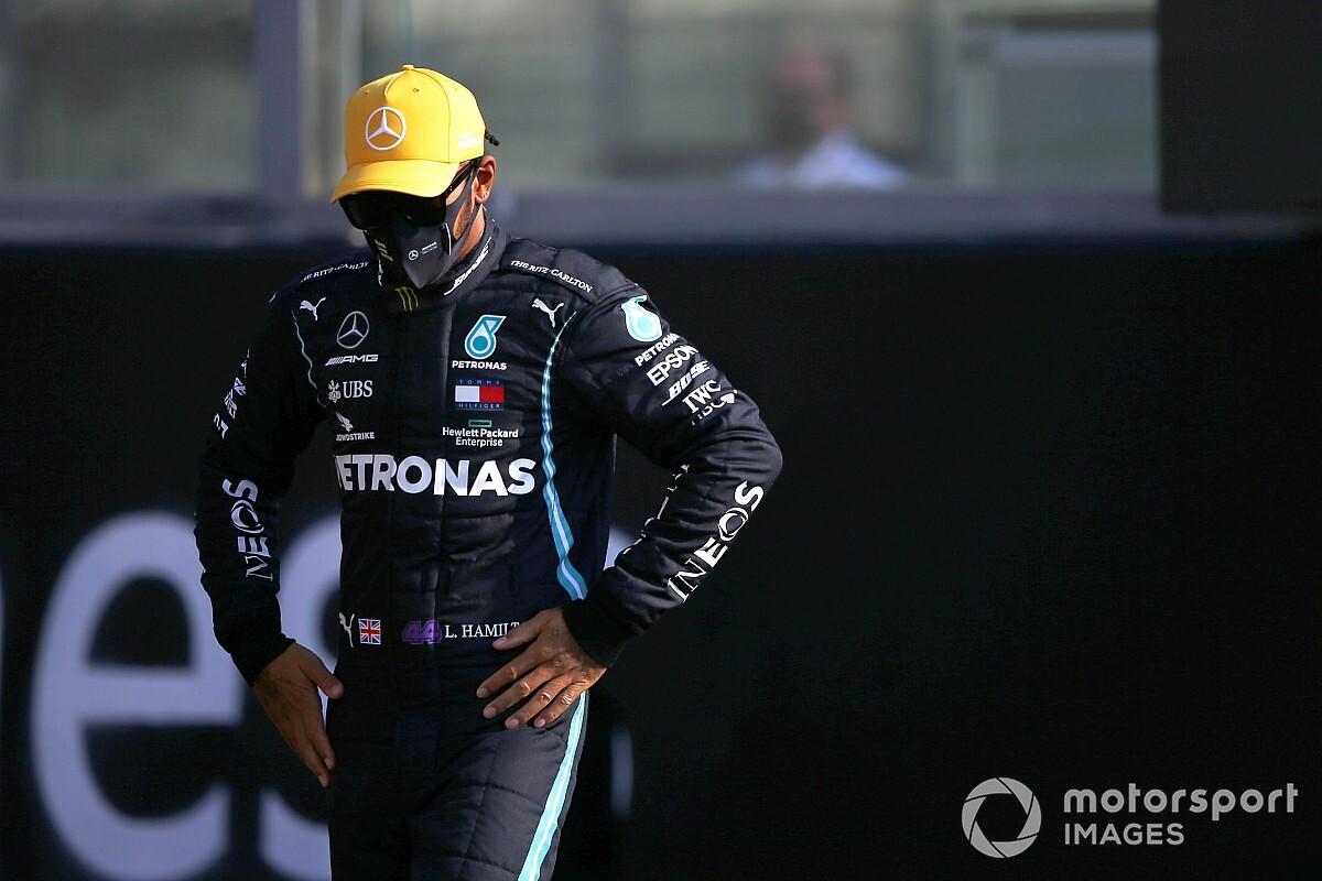 """Webber et le """"timing affreux"""" de la pige de Russell pour Hamilton"""