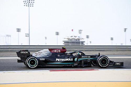 F1: Bottas voa na hora final e termina como o mais rápido do sábado no Bahrein