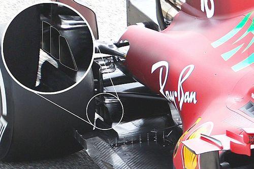 Ferrari opte pour une solution inédite sur son diffuseur