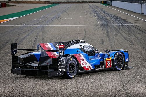 Alpine LMP1 WEC car given over 100kg weight penalty at Spa