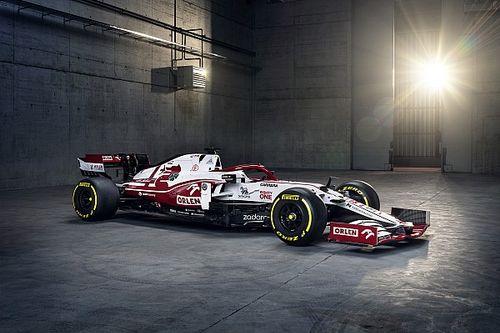 Bemutatták Räikkönen és Giovinazzi 2021-es autóját, az Alfa Romeo C41-et! (videó)