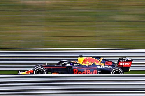Red Bull, İstanbul Park'ta çekim günü için piste çıktı