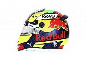 Photos - Découvrez le casque Red Bull de Sergio Pérez